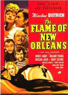 <i>The Flame of New Orleans</i> 1941 film