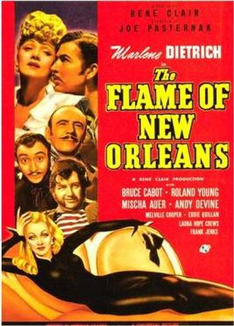 The Flame of New Orleans - Image: The Flame of New Orleans Poster