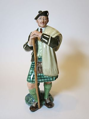Laird - The Laird, a figurine by Royal Doulton