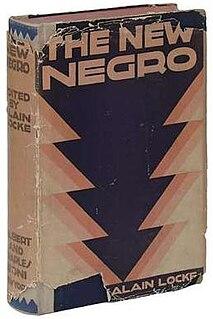 <i>The New Negro: An Interpretation</i> book by Alain Locke