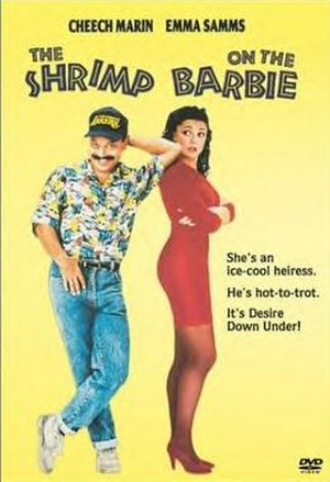 The Shrimp on the Barbie - DVD cover