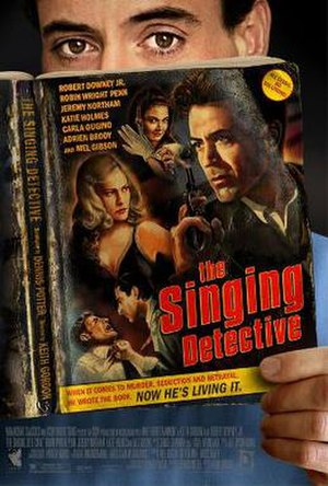 The Singing Detective (film) - Theatrical release poster