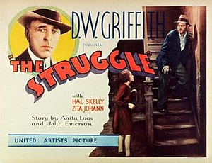 The Struggle (film) - Theatrical release poster