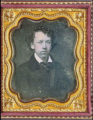 Thomas Bailey Aldrich - Daguerrotype of Thomas Bailey Aldrich, MS Am 1287.7, Houghton Library, Harvard University
