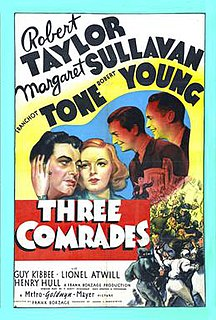 <i>Three Comrades</i> (1938 film) 1938 film by Frank Borzage