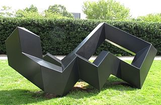 Tony Smith (sculptor) American sculptor, visual artist, architectural designer, and a noted theorist on art