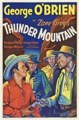 Thunder Mountain (1935 film) - Theatrical release poster