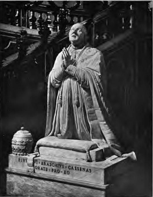 Tomb Monument of Pius VI Gregorovius