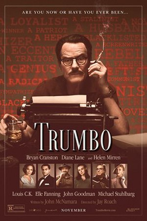 Trumbo (2015 film) - Theatrical release poster