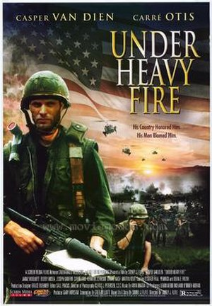 Under Heavy Fire - Original poster