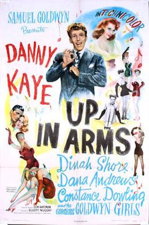 Up in Arms - 1944 US Theatrical Poster