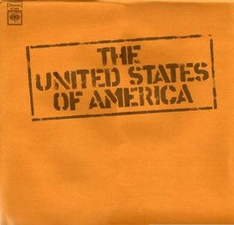 The United States of America (album) - Image: Usa album papersleeve
