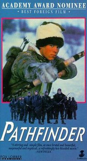 Pathfinder (1987 film) - International poster