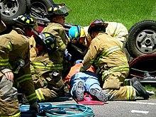 How Do Ems Treat Car Crash Victims