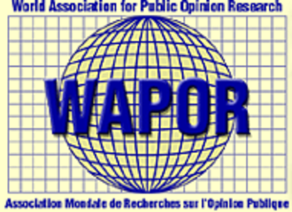 World Association for Public Opinion Research - Image: WAPOR logo