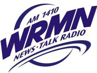 WRMN - Image: WRMN AM 1410 radio logo