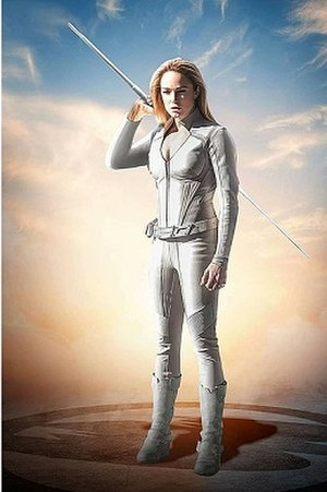 Sara Lance - Caity Lotz as Sara Lance / White Canary   in Legends of Tomorrow