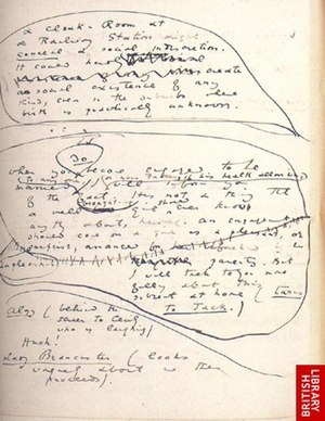 The Manuscripts of Oscar Wilde - A page from The Importance of Being Earnest.