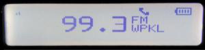 WPKL - WPKL on a SPARC HD Radio with RDS.