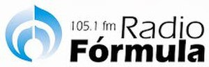 XHATM-FM - Image: XHATM 105.1Radio Formula logo