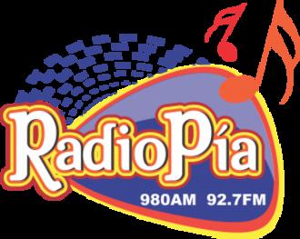 XHLC-FM (Michoacán) - Image: XHLC 980 92.7radiopia logo