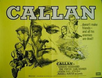 Callan (film) - UK theatrical poster