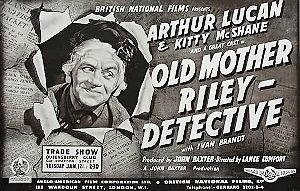 Old Mother Riley Detective - Original trade poster