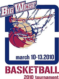 2010 Big West men's basketball tournament logo.jpg