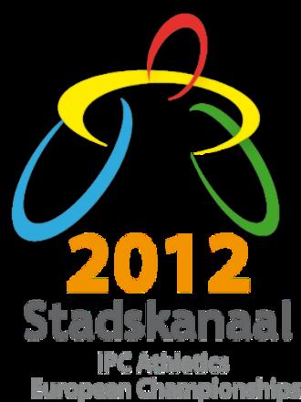 2012 IPC Athletics European Championships - Image: 2012 IPC Athletics European Championships logo