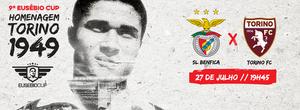 Eusébio Cup - Poster for the ninth edition of the Eusébio Cup (2016)
