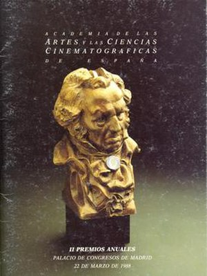 2nd Goya Awards - Image: 2nd Goya Awards logo
