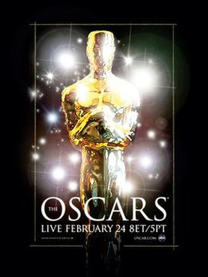 80th Academy Awards - Official poster