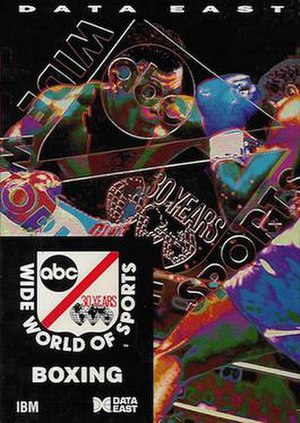 ABC Wide World of Sports Boxing - Cover art of U.S. DOS release.