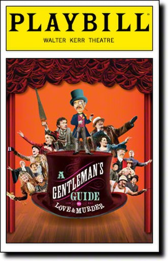 A Gentleman's Guide to Love and Murder - Broadway Playbill