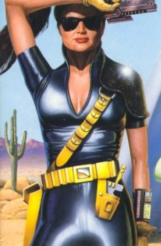 Ace (Doctor Who) - Ace in her Spacefleet uniform, after rejoining the Doctor in Deceit.