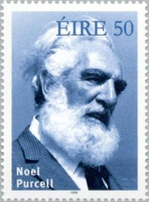 Noel Purcell (actor) - 1999 commemorative stamp