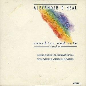 Sunshine and Rain (song) - Image: Alexander O Neal Sunshine Rain 22726