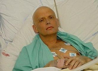 Boris Berezovsky (businessman) - Alexander Litvinenko at University College Hospital