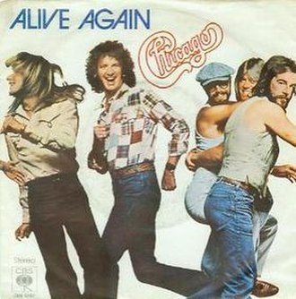 Alive Again (Chicago song) - Image: Alive Again cover