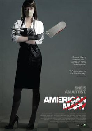 American Mary - Theatrical release poster