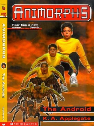 The Android (novel) - Marco morphing into a wolf spider
