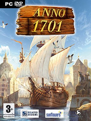 Anno 1701 - Cover art of Anno 1701