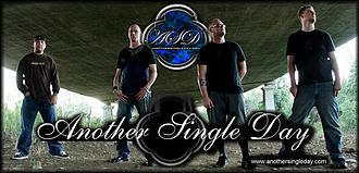 Another Single Day - ASD Promotional photo, from left: Fowler, Holzgang, Marshall, Cody