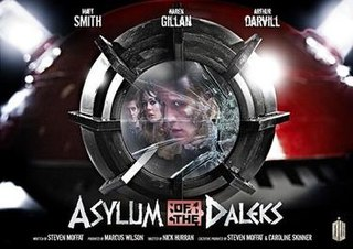 Asylum of the Daleks episode of Doctor Who