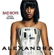 Alexandra Burke featuring Flo Rida — Bad Boys (studio acapella)