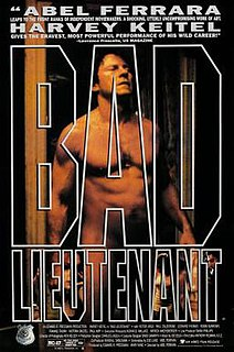 <i>Bad Lieutenant</i> 1992 crime-drama film directed by Abel Ferrara
