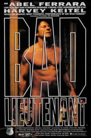 Bad Lieutenant - Theatrical release poster