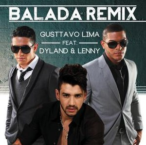 Balada (Gusttavo Lima song) - Image: Balada Remix single