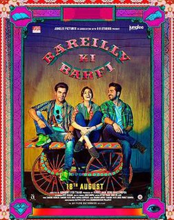 <i>Bareilly Ki Barfi</i> 2017 film directed by Ashwiny Iyer Tiwari