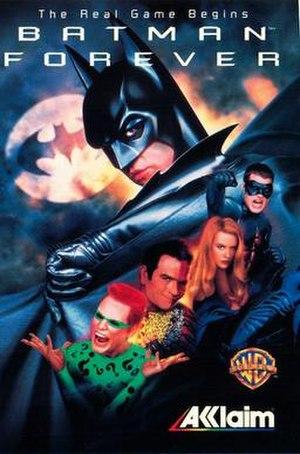 Batman Forever (video game) - Boxart
